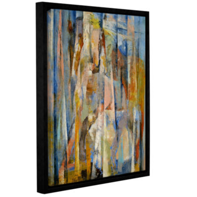 Brushstone Wild Horse Gallery Wrapped Floater-Framed Canvas Wall Art