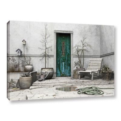 Brushstone Winter Garden Gallery Wrapped Canvas Wall Art