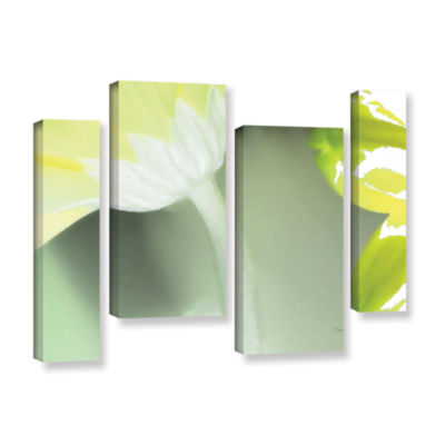Brushstone Gerber Time II 4-pc. Gallery Wrapped Staggered Canvas Wall Art