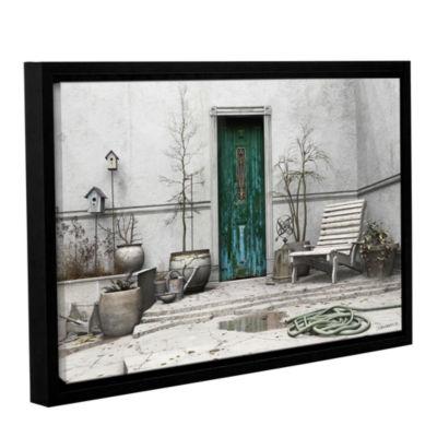Brushstone Winter Garden Gallery Wrapped Floater-Framed Canvas Wall Art