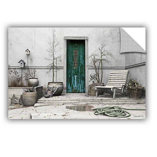 Brushstone Winter Garden Removable Wall Decal