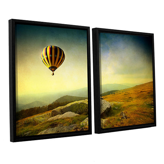 Brushstone Keys to Imagination III 2-pc. Floater Framed Canvas Wall Art