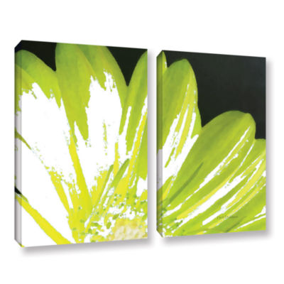 Brushstone Gerber Time III 2-pc. Gallery Wrapped Canvas Wall Art