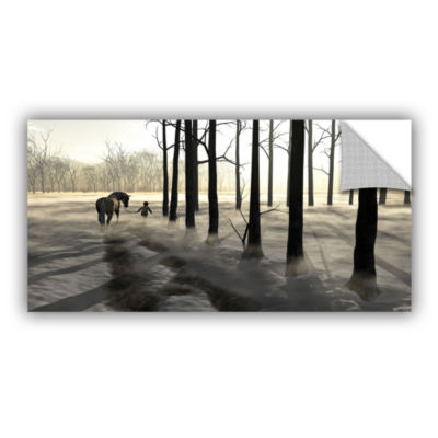 Brushstone Winter Walk Removable Wall Decal