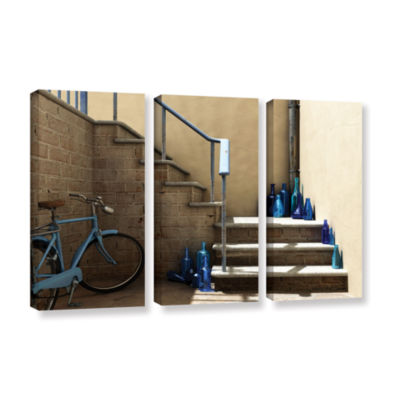 Brushstone Bottle Collector 3-pc. Gallery WrappedCanvas Wall Art