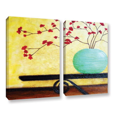 Brushstone Casa Table 2-pc. Gallery Wrapped CanvasWall Art