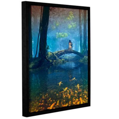 Brushstone Lantern Bearer Gallery Wrapped Floater-Framed Canvas Wall Art
