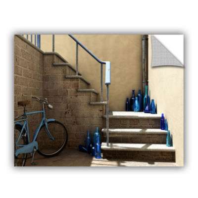 Brushstone Bottle Collector Removable Wall Decal