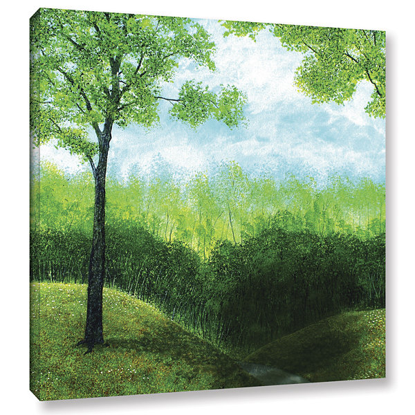 Brushstone Christians Road Gallery Wrapped CanvasWall Art