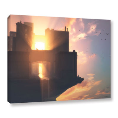 Brushstone Last Light Gallery Wrapped Canvas WallArt