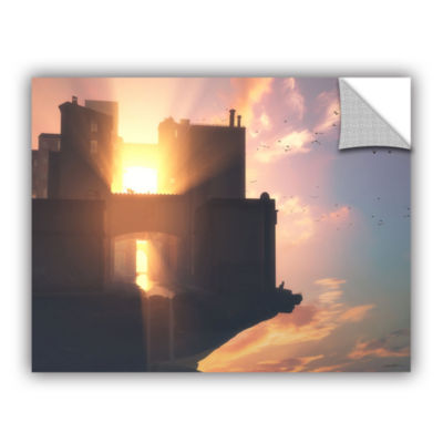 Brushstone Last Light Gallery Wrapped Floater-Framed Canvas Wall Art