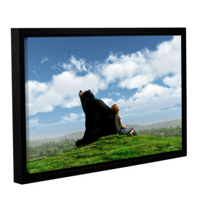 Brushstone Cloud Watchers Gallery Wrapped Floater-Framed Canvas Wall Art