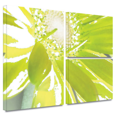Brushstone Gerber Time IV 3-pc. Flag Gallery Wrapped Canvas Wall Art