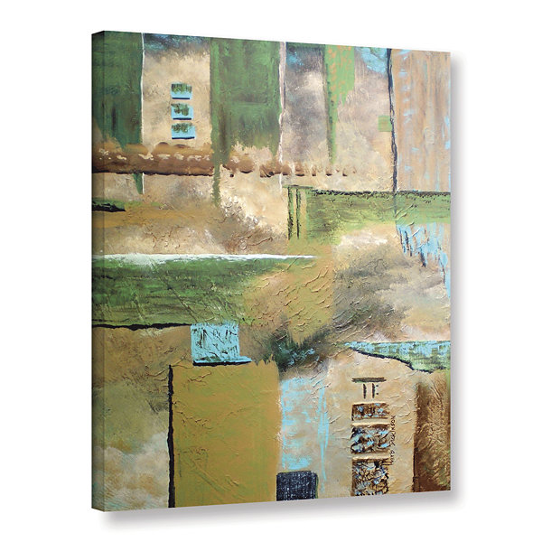 Brushstone Connection Gallery Wrapped Canvas WallArt