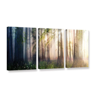 Brushstone Constancy 3-pc. Gallery Wrapped CanvasWall Art