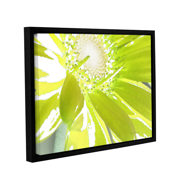 Brushstone Gerber Time IV Gallery Wrapped Floater-Framed Canvas Wall Art