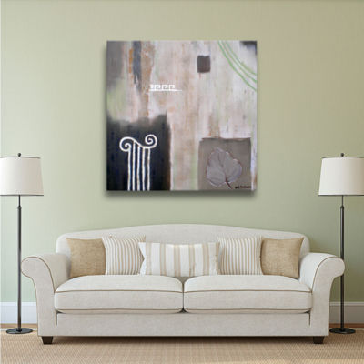 Brushstone Greek Tribute I Gallery Wrapped CanvasWall Art