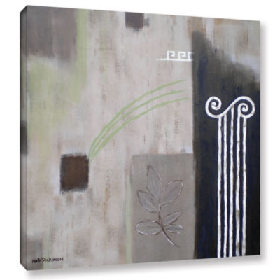 Brushstone Greek Tribute II Gallery Wrapped CanvasWall Art