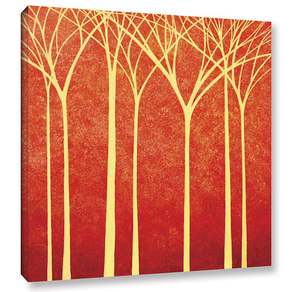 Brushstone Contemplation Gallery Wrapped Canvas Wall Art