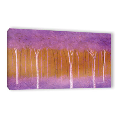 Brushstone Cotton Candy Forest Gallery Wrapped Canvas Wall Art