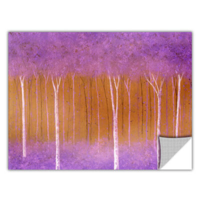 Brushstone Cotton Candy Forest Removable Wall Decal
