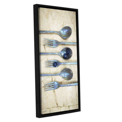 Brushstone Culinary 1 Gallery Wrapped Floater-Framed Canvas Wall Art