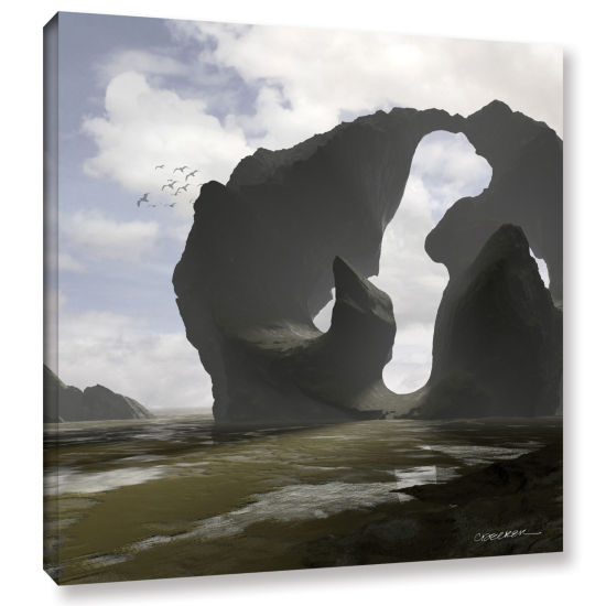 Brushstone Low Tide Gallery Wrapped Canvas Wall Art