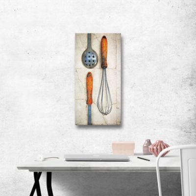 Brushstone Culinary 2 Gallery Wrapped Canvas WallArt