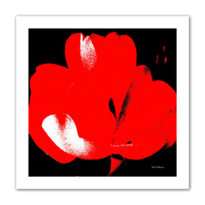 Brushstone Hot Blooms I Canvas Wall Art