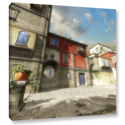 Brushstone Mediterranean Gallery Wrapped Canvas Wall Art