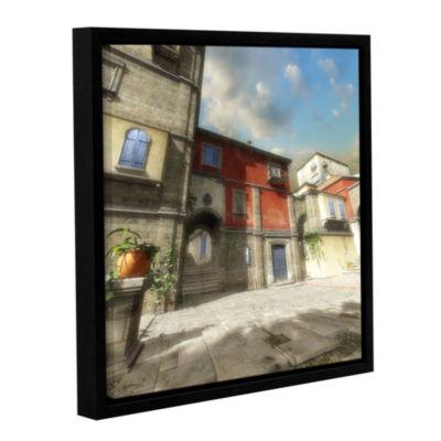 Brushstone Mediterranean Gallery Wrapped Floater-Framed Canvas Wall Art