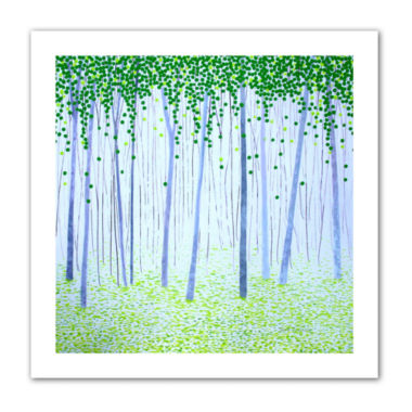 Brushstone Misty Woodlands Canvas Wall Art