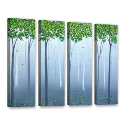 Brushstone Morning Dream 4-pc. Gallery Wrapped Canvas Wall Art