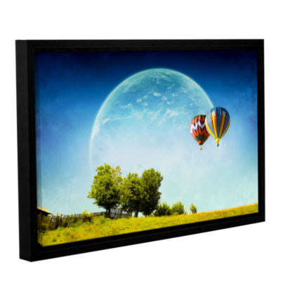 Brushstone Dreamland Explorer Gallery Wrapped Floater-Framed Canvas Wall Art