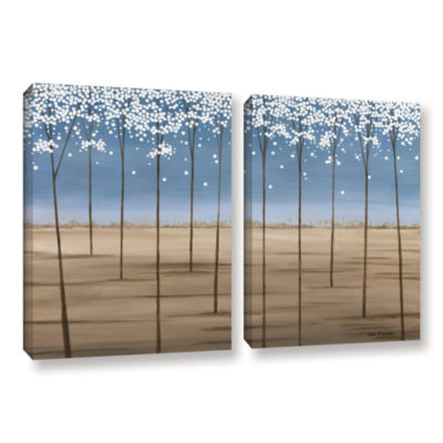 Brushstone Spring Dream 2-pc. Gallery Wrapped Canvas Wall Art