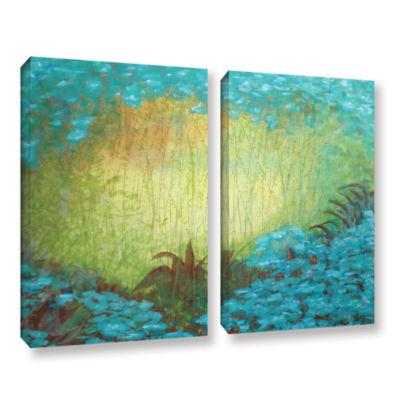 Brushstone Morning Light II 2-pc. Gallery WrappedCanvas Wall Art