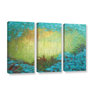 Brushstone Morning Light II 3-pc. Gallery WrappedCanvas Wall Art