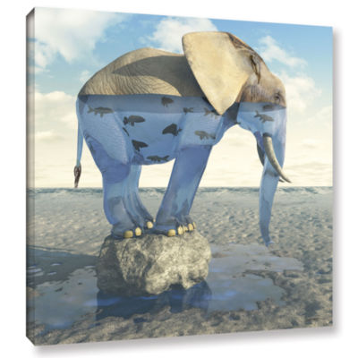 Brushstone Drinking Problem Gallery Wrapped CanvasWall Art