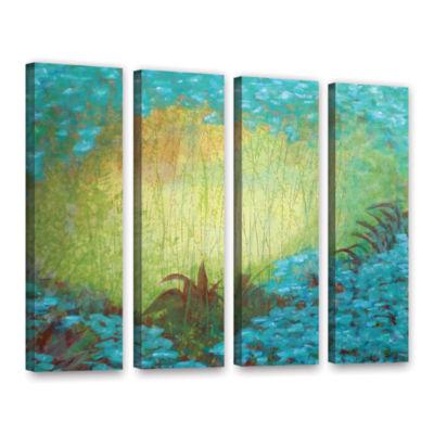 Brushstone Morning Light II 4-pc. Gallery WrappedCanvas Wall Art