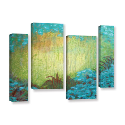 Brushstone Morning Light II 4-pc. Gallery WrappedStaggered Canvas Wall Art