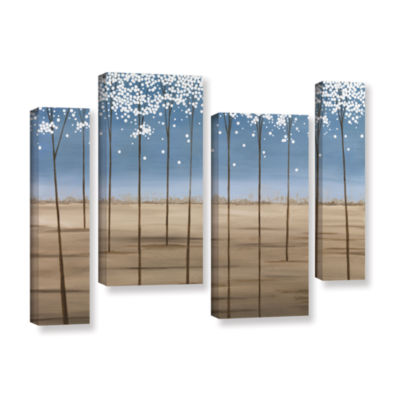 Brushstone Spring Dream 4-pc. Gallery Wrapped Staggered Canvas Wall Art