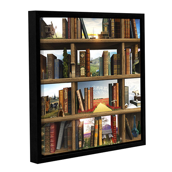 Brushstone Story World Gallery Wrapped Floater-Framed Canvas Wall Art