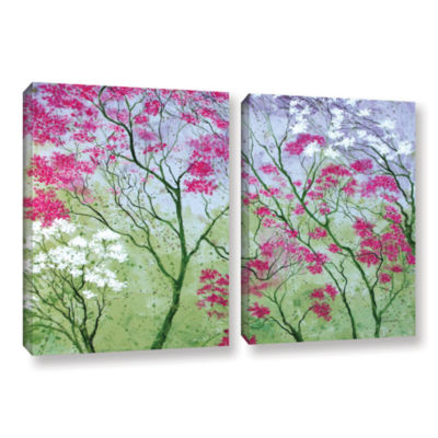 Brushstone Elysian 2-pc. Gallery Wrapped Canvas Wall Art
