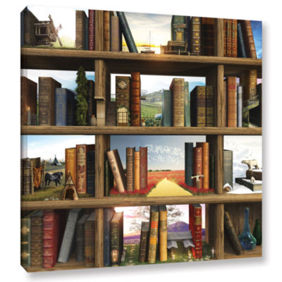 Brushstone Story World Gallery Wrapped Canvas WallArt
