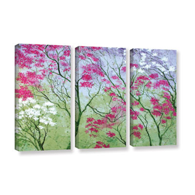 Brushstone Elysian 3-pc. Gallery Wrapped Canvas Wall Art