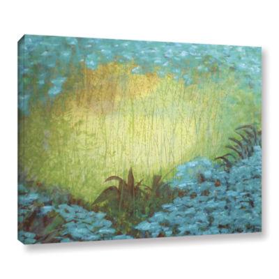 Brushstone Morning Light II Gallery Wrapped CanvasWall Art
