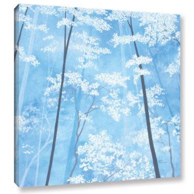 Brushstone Spring Forest 1 Gallery Wrapped CanvasWall Art