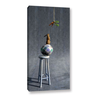 Brushstone Equilibrium 2 Gallery Wrapped Canvas Wall Art