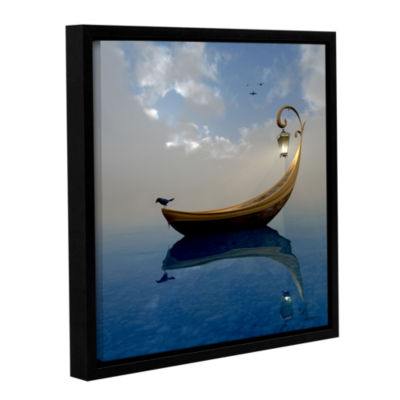 Brushstone Narcissism Gallery Wrapped Floater-Framed Canvas Wall Art