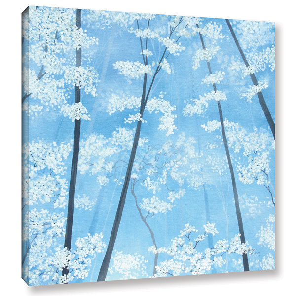 Brushstone Spring Forest 2 Gallery Wrapped CanvasWall Art